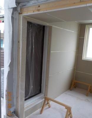 新しい防音室は2重です