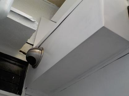 連棟式の防音室の防音チャンバーの換気フード
