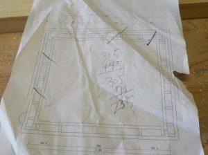 防音ブースの製作 図面を描く