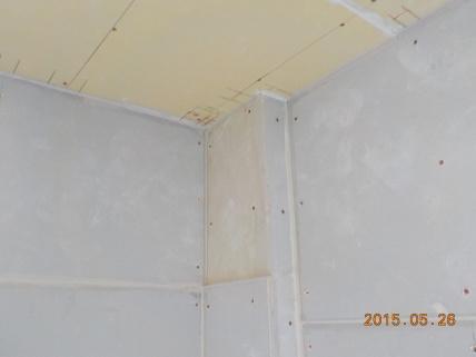お部屋の中に新しい防音室を作るスーパーストラクチャー壁編|最後の1枚