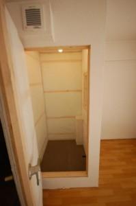 完全防音室付きマンションB101サブ防音室内部