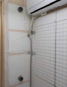 防音室の設備 換気内部写真