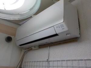 防音室の設備 エアコン