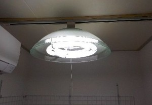 防音室の設備 照明