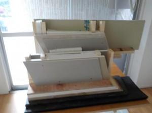 防音室2重壁模型