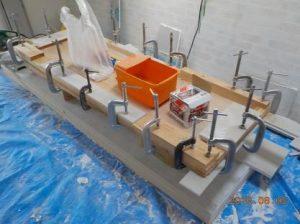 防音ブースの製作 防音扉の製作 骨組み