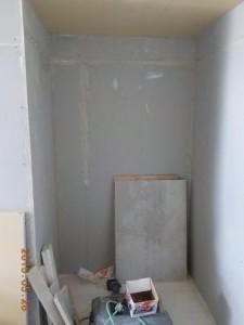 お部屋の中に新しい防音室を作るスーパーストラクチャー壁編|押入側