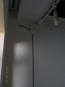 防音ブースの製作 電気工事