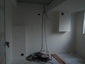 別棟防音室 換気口およびエアコン用穴まわりのシリコーン完成
