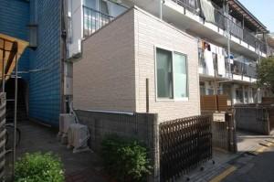 完全防音室付きマンションB101防音室外観北側