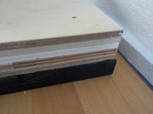 防音ブースの床;ファンデーションの詳細