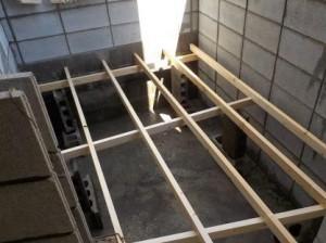 作業床の下地