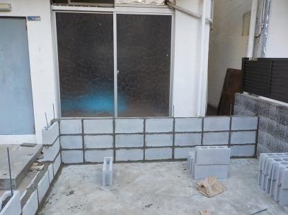防音室の立ち上がり作り始めました