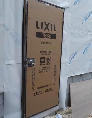 防音室の一番外側の防水用扉