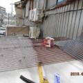 防音室の屋根を作りました。