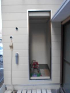 防音室の外壁を張りました