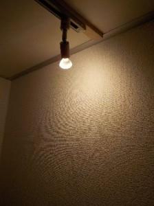 防音室の設備 スポットライト照明