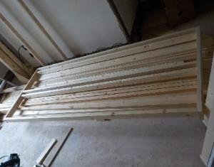お部屋の中に新しい防音室を作るスーパーストラクチャー壁編|骨組み、外壁と内壁の下地