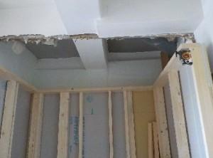 スーパーストラクチャーA仕様押入部分壁外側完成