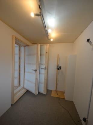 専用防音室のある2DKマンション 防音室入口側