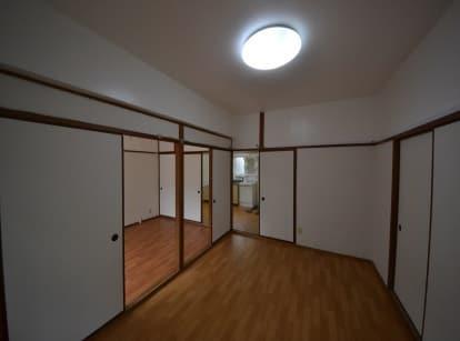 専用防音室のある2DKマンション お部屋入口側