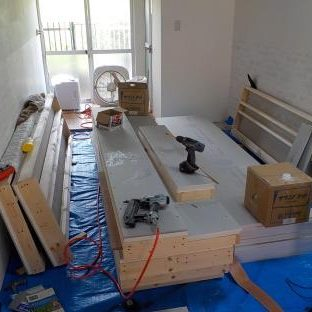防音ブースの製作 スーパーストラクチャ(壁・天井)完成