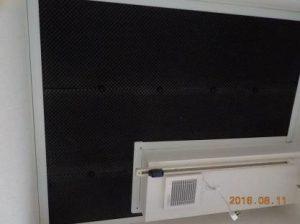 防音ブースの製作 天井吸音材張り込み