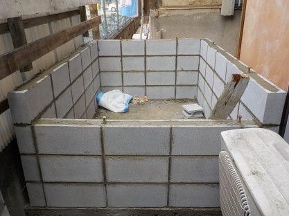 防音室の基礎の立ち上がり