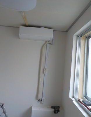 防音室に電気工事をしました防音室に電気工事をしました