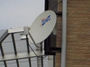 BSアンテナをBS・CSアンテナに交換