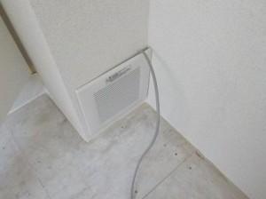 防音室の換気装置は室外が最適 改善前