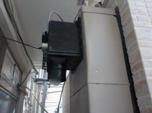 防音室の換気装置は室外が最適 改善後