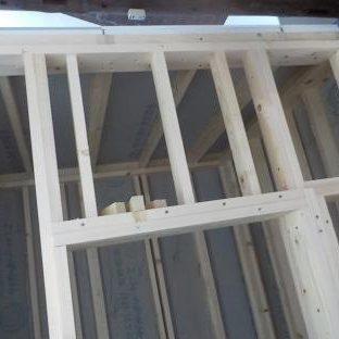 防音ブースの製作 スーパーストラクチャーの組み立て 天井部分