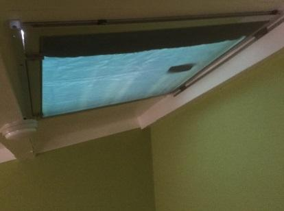 天窓の遮光 遮光後