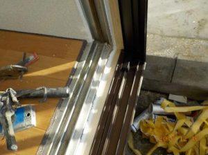 窓を二重窓に アルミ窓を取り付け